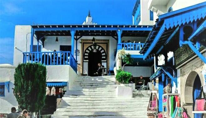 Les maisons d'hôtes à Sidi Bou Saïd